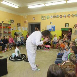 Galerie Bublinková šou ve školní družině