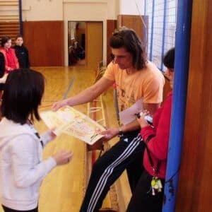 Galerie Florbalový turnaj dívek 2.stupně