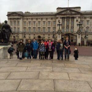 Galerie Příjezd do Anglie a první den vLondýně