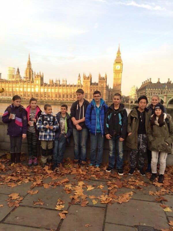 Příjezd do Anglie a první den vLondýně