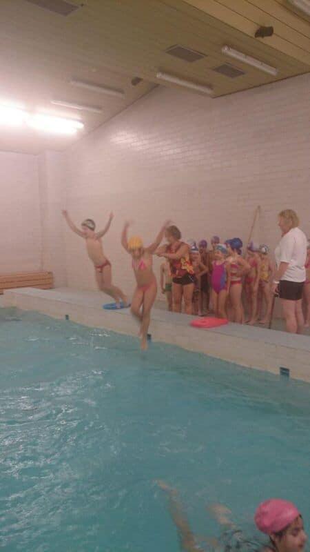 Plavání druháčků