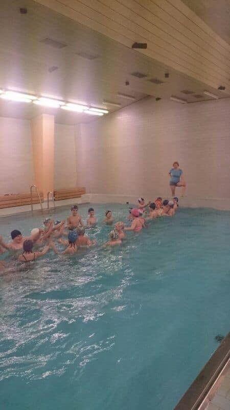 Závěrečné plavání