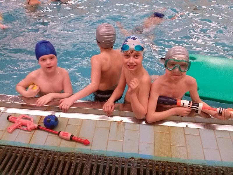 Zakončení plaveckého výcviku
