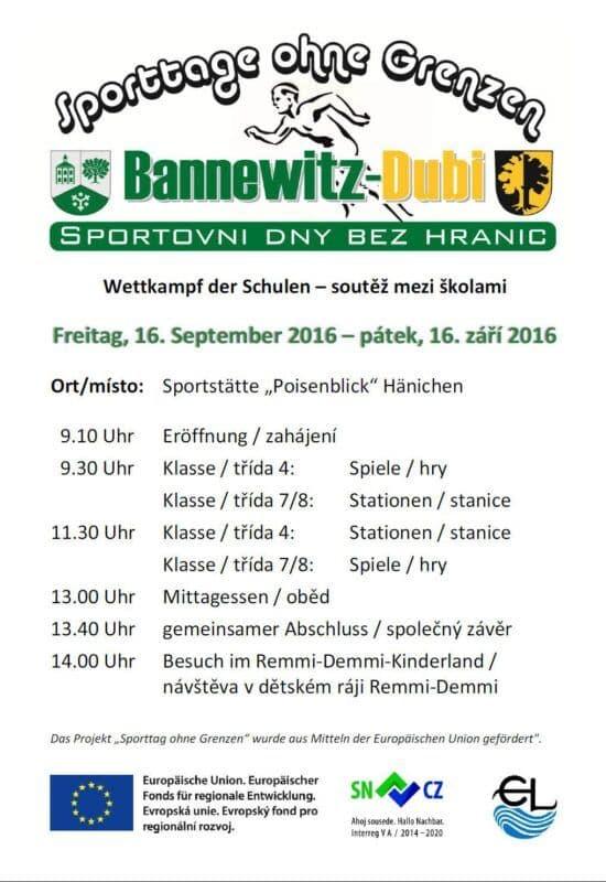 Sportovní den 2016