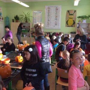 Galerie Halloweenské odpoledne třeťáků