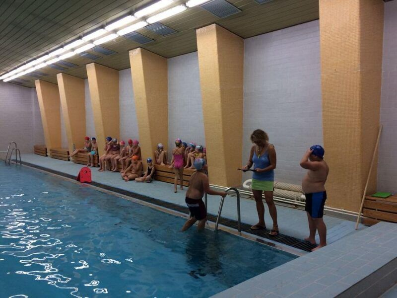 Plavecký výcvik 2.a 3.třídy