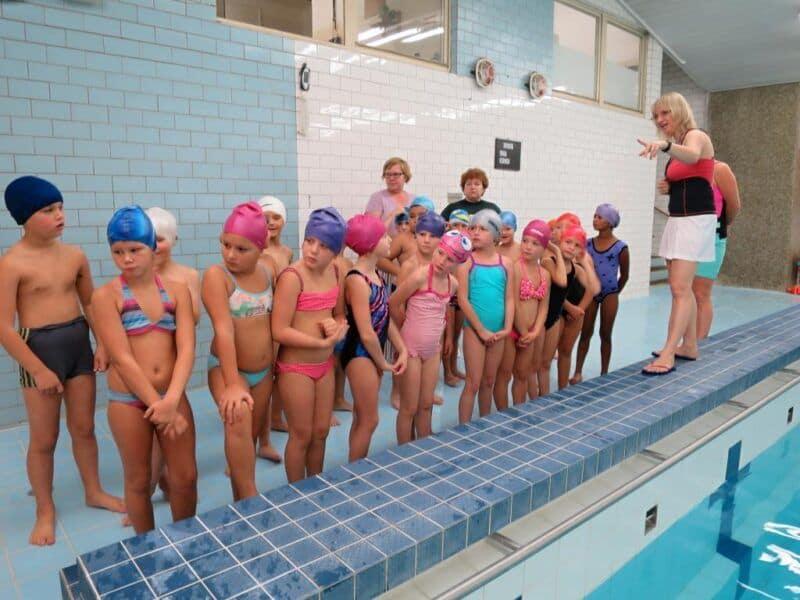 Plavání 2.tříd