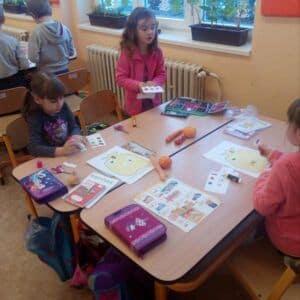 Galerie Žáci 1.Amají za sebou svůj první projektový den