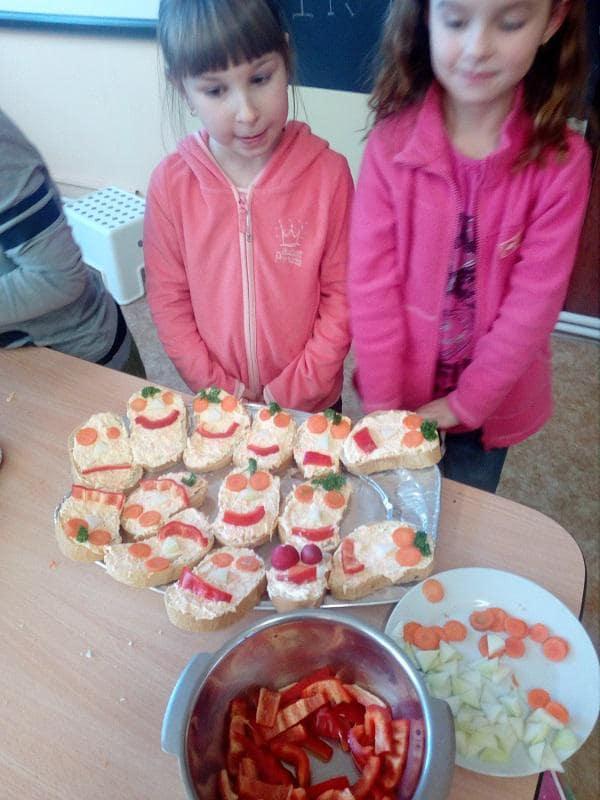 Žáci 1.Amají za sebou svůj první projektový den