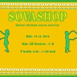 Galerie Otevření SOVASHOPU