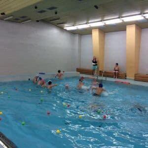 Galerie Závěrečné plavání třeťáků