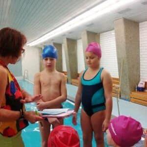 Galerie Žáci 2.Aukončili plavecký výcvik