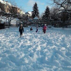 Galerie Dovádění ve sněhu