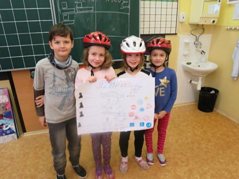 Projektový den Jízdní kolo, osobní bezpečí