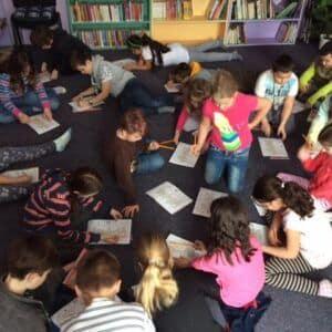 Galerie Březen– měsíc knihy aneb návštěva knihovny