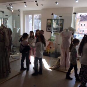 Galerie 3.třídy vModrodomu