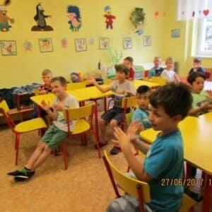 Galerie Pestrý závěr školního roku vdružině