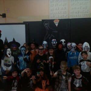 Galerie Halloweenské učení ve 2.A
