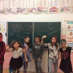 Galerie Halloween ve 4.B