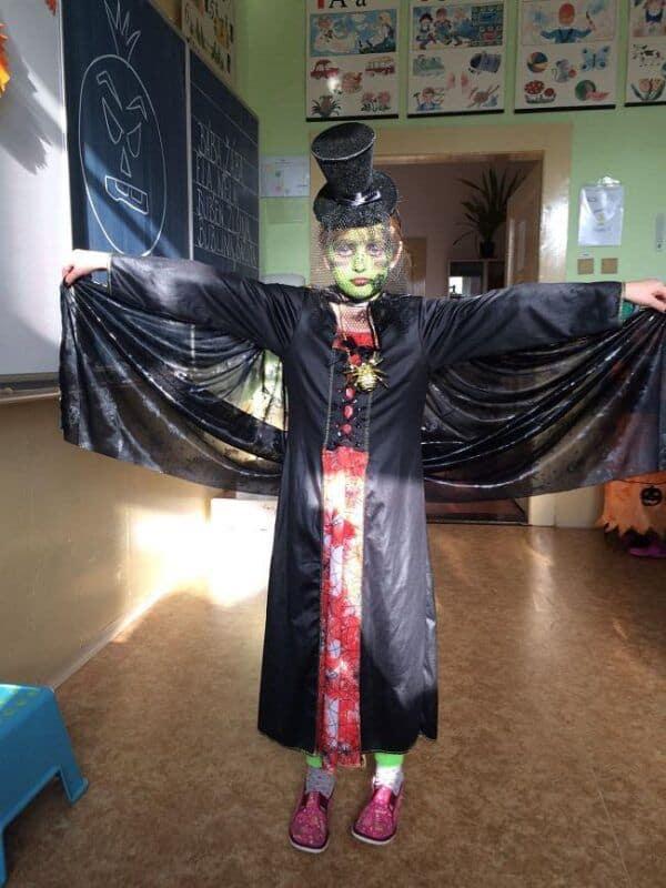 Halloween vprvních třídách