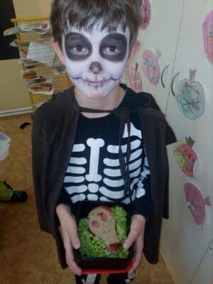 Halloweenské učení ve 2.A