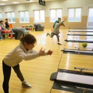 Galerie 3.Ana bowlingu