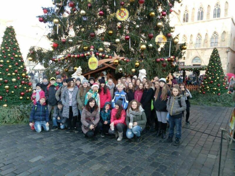 Vánoční trhy vPraze