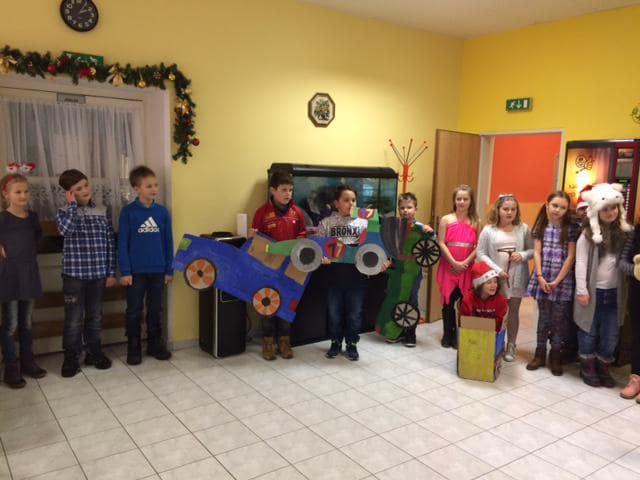 Vánoční představení vdomově pro seniory