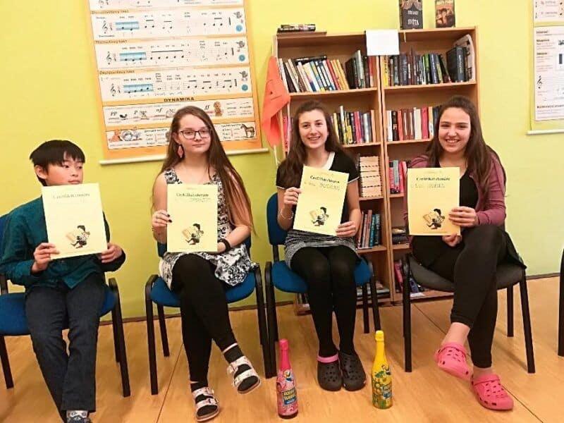 Roční výročí čtenářského klubu