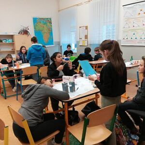 Galerie Projektové vyučování v6.třídě
