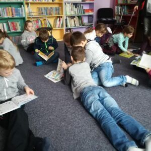 Galerie Týden čtení v1.a 2.třídě