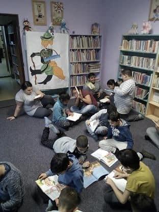 Návštěva knihovny vDubí