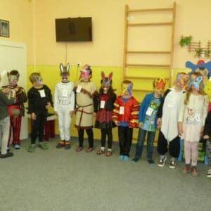 Galerie Maškarní zábava ve školní družině