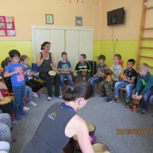 Galerie Bubnování ve školní družině