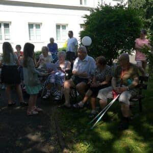 Galerie Vystoupení vDomově důchodců