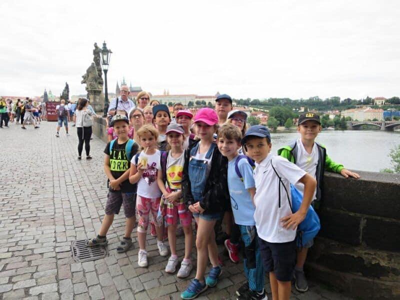 Výlet do Prahy– 3.třída a 5.B