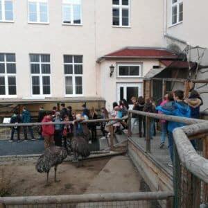 Galerie Návštěva Gymnázia Teplice