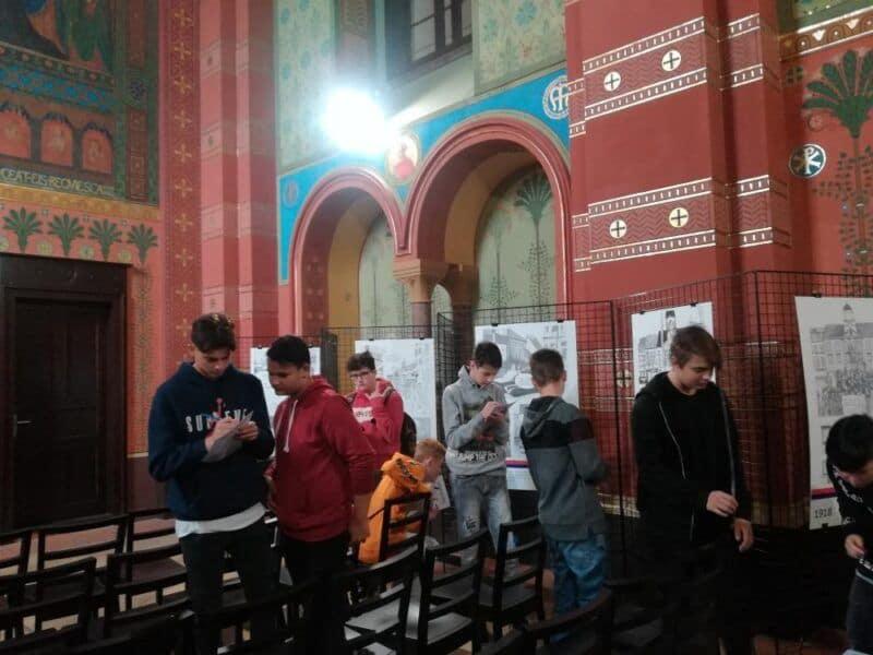 Návštěva Gymnázia Teplice