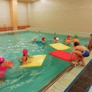 Galerie Konec plaveckého výcviku