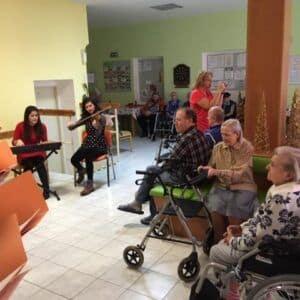 Galerie Zpívání vdomově důchodců