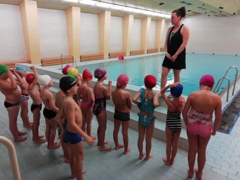 Konec plaveckého výcviku