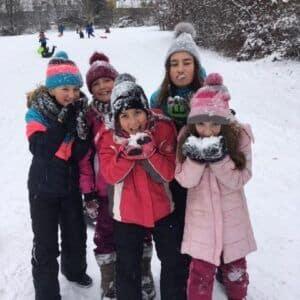 Galerie Sněhové hrátky