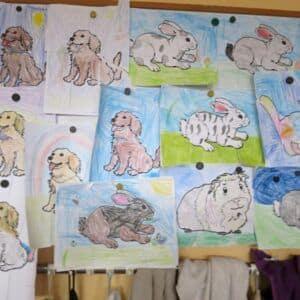 Galerie Projektový den Zvířata vprvních třídách