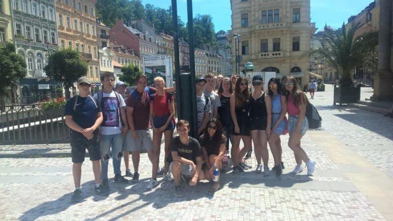 Školní výlet – Karlovy Vary