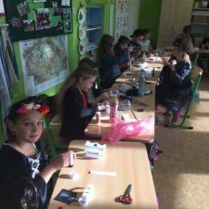 Galerie Halloween ve třetích třídách