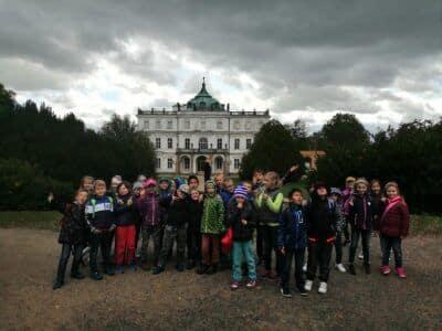 Výlet na zámek Ploskovice 30.9.2019