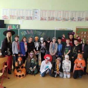 Galerie Halloween ve 4.A