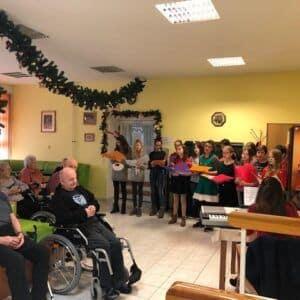 Galerie Vánoční vystoupení školního sborečku- Hvězdiček