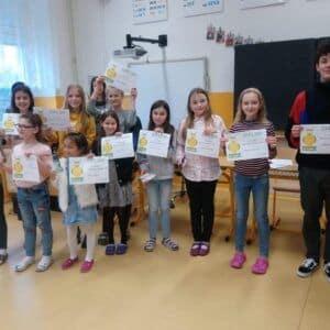 Galerie Školní kolo recitační soutěže na Základní škole Dubí1