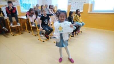 Školní kolo recitační soutěže na Základní škole Dubí1